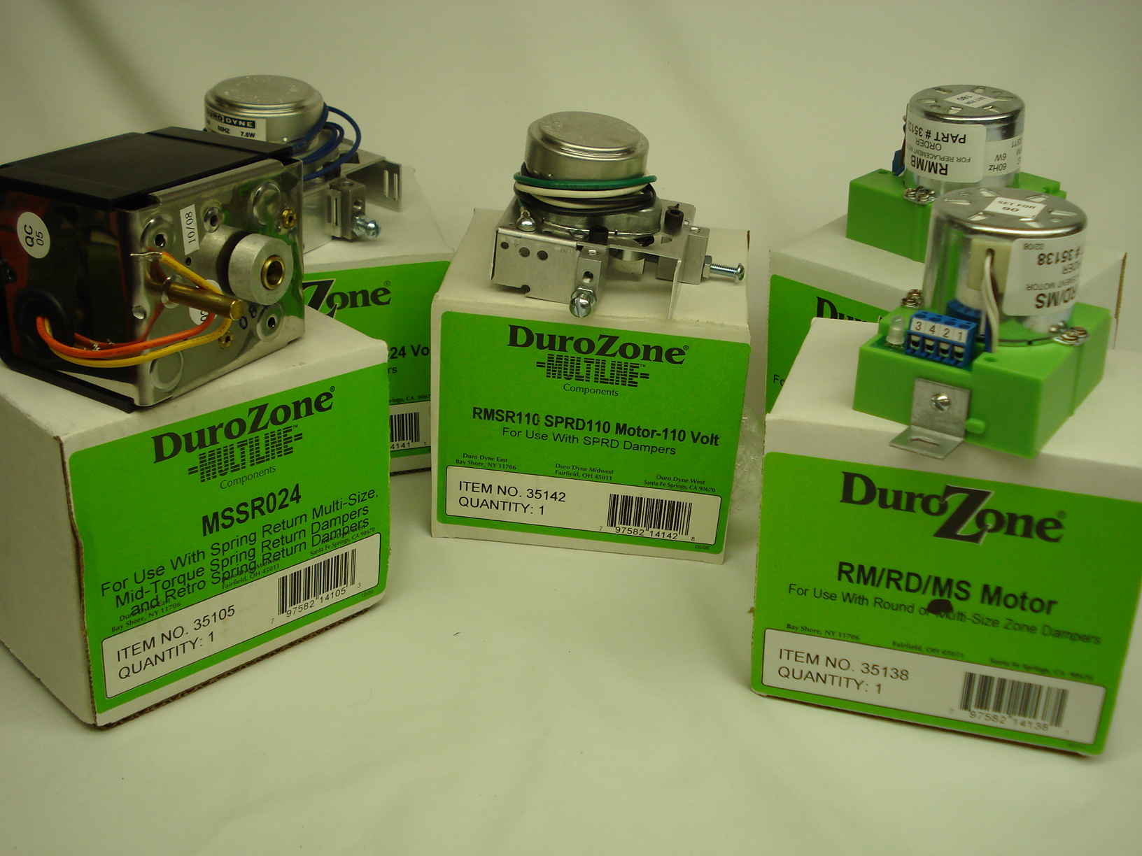 rertrozone replacement motors